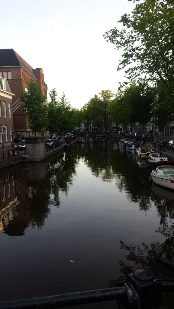 Ca 20 veckor gravid i vackra Amsterdam